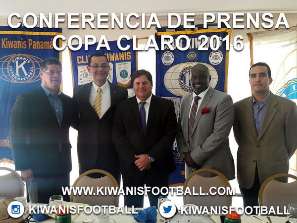 Conferencia de Prensa Copa Claro 2016