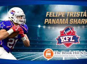 Felipe Tristán recibe beca para jugar football americano en USA