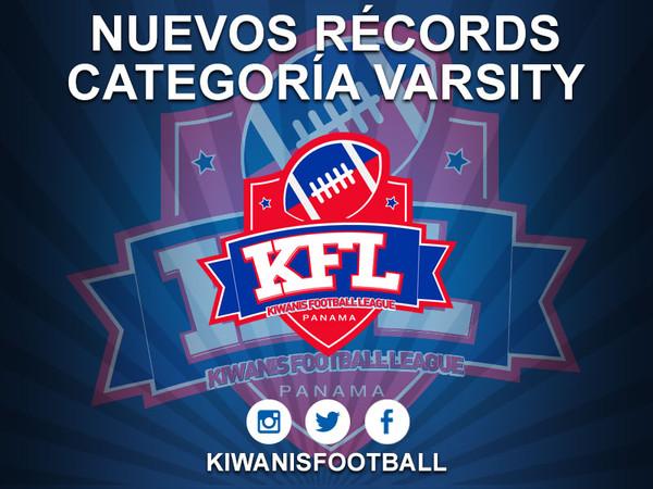 Nuevos récords categoría Varsity
