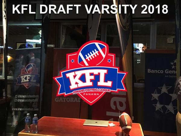 KFL Varsity Draft 2018