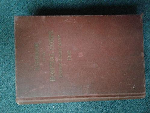 Handbook of Hospital Corps Navy 1939