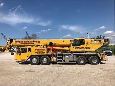 linkbelt htc86100 100ton crane