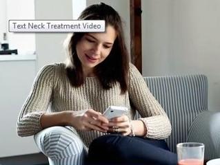 A Modern Spine Ailment: Text Neck