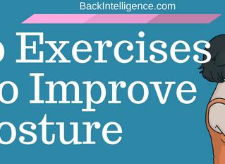 10 Exercises To Improve Posture