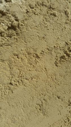 White loam sand