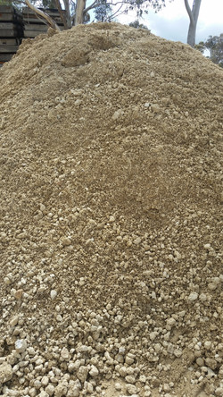 Screened hillers gravel 2
