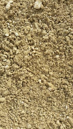 Screened hillers gravel