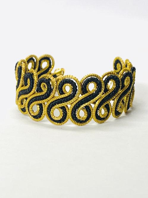 Gaita Black Bracelet