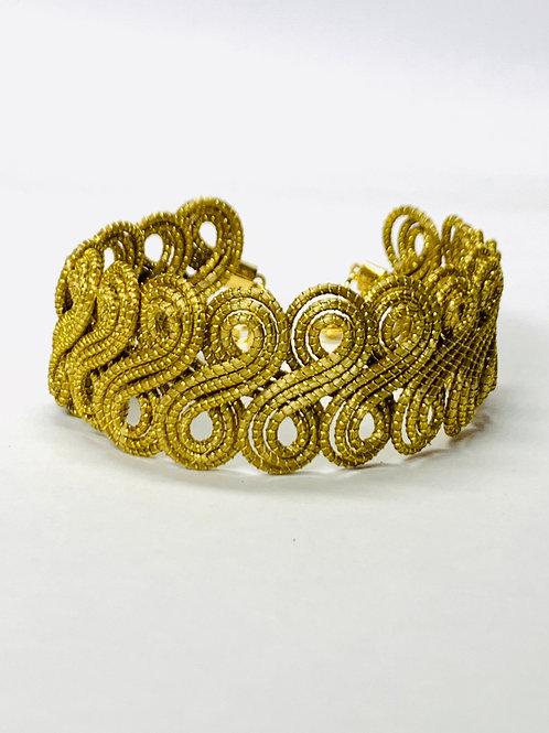 Gaita Gold Bracelet
