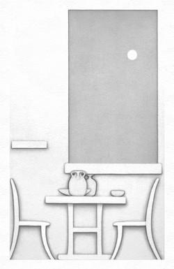 Water (drawing X)