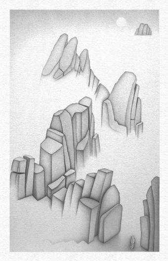 Water (drawing VI)