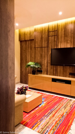Wall Panel & TV COnsole