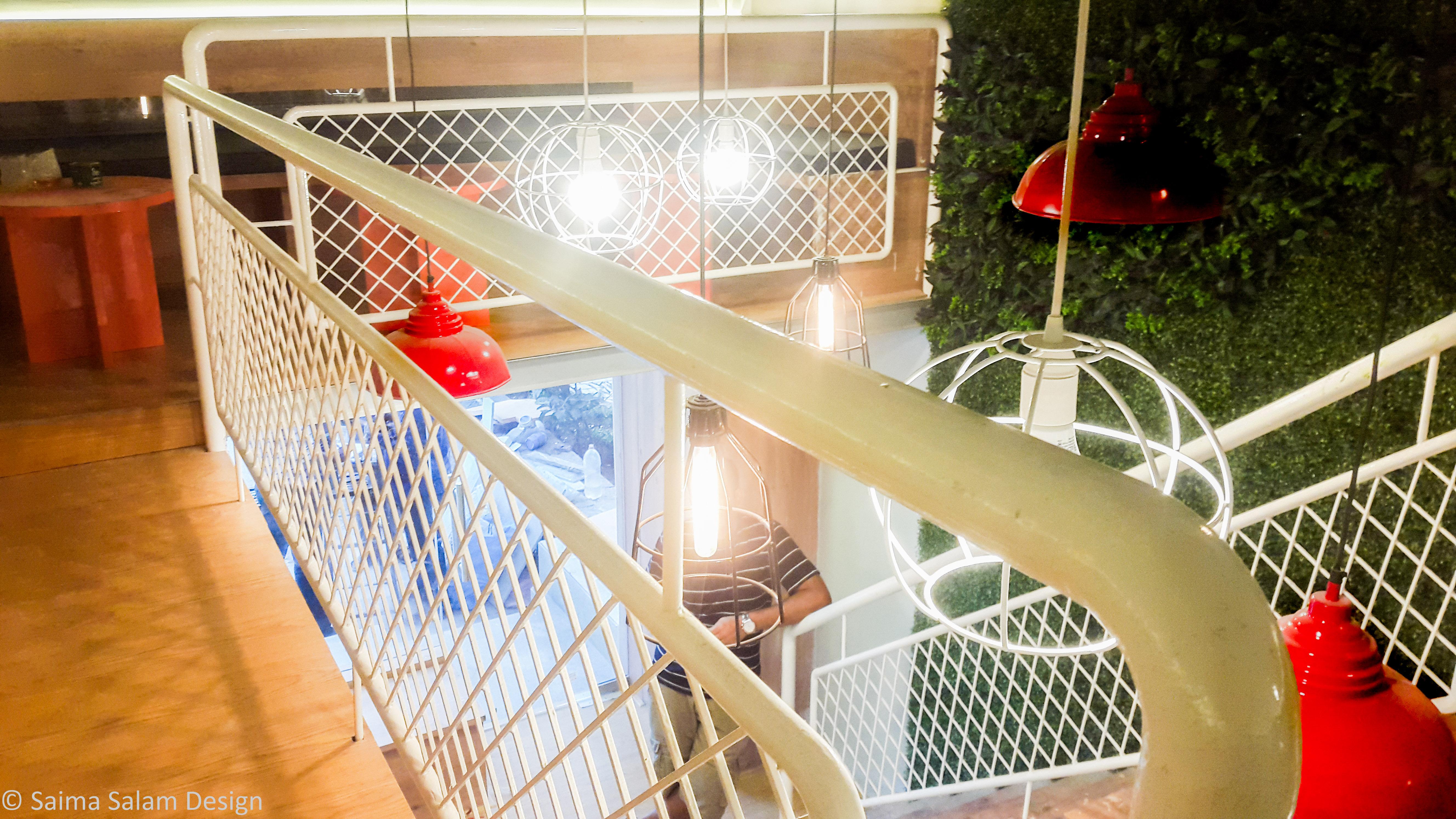Bridge connecting both Mezzanine