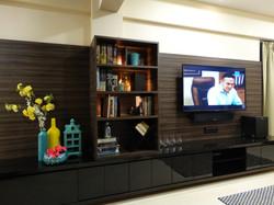 TV Console & Book Shelf