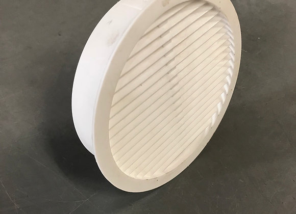 "4"" White Air Vent for Heater Housing (RH0063)"
