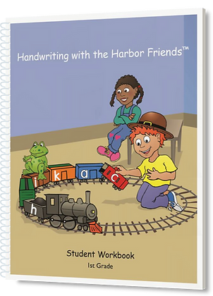 Handwriting with the Harbor Friends, Gr 1