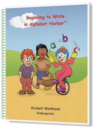 Beginning to Write in Alphabet Harbor, K