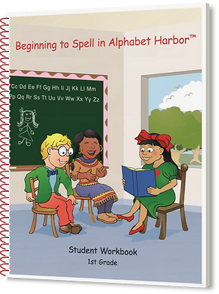 Beginning to Spell in Alphabet Harbor, Gr 1