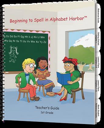 Beginning to Spell in Alphabet Harbor TE, Gr 1
