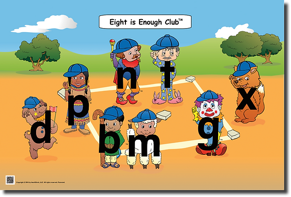 Eight is Enough Club Thematic Poster