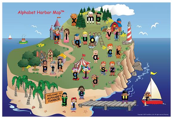 Alphabet Harbor Map