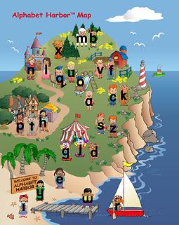 Alpabet Harbor Maps