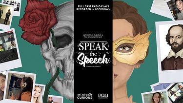 Speak the Speech - Poster 1 - Landscape.