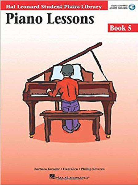Hal Leonard Lessons Book 5