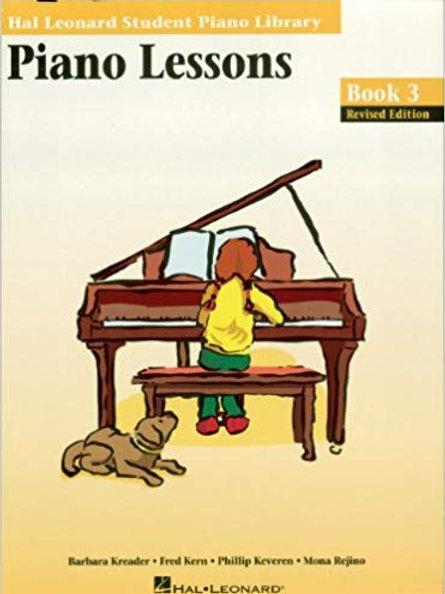 Hal Leonard Lessons Book 3