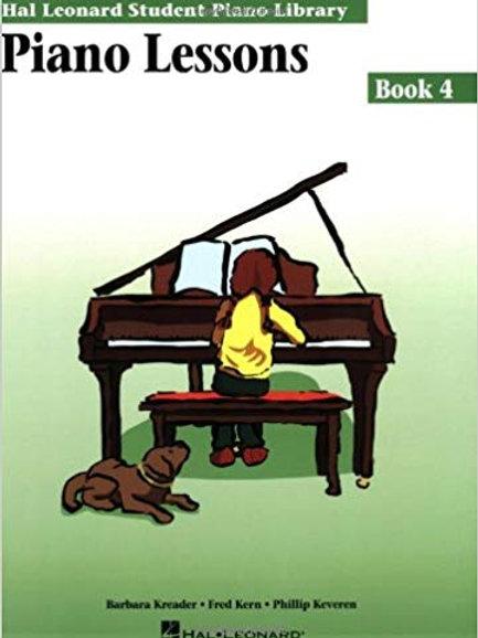 Hal Leonard Lessons Book 4