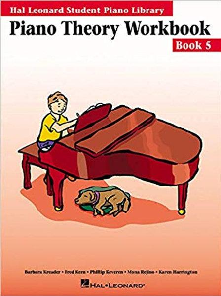 Hal Leonard Theory Book 5