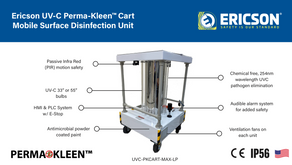 Need disinfection? Perma-Kleen Cart.