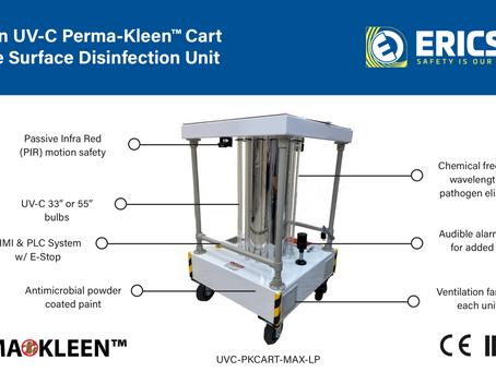 Need disinfection? Perma-Kleen Cart.
