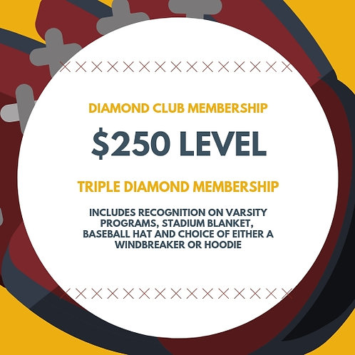 "Diamond Club ""Triple Diamond"" Membership"