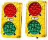 Semaforos de Anden Tri Lite, Semaforos para Anden, Accesorios para Anden, Sistema Visual para Andenes