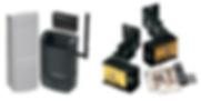 Accesorios para Puertas Seccionales y Residenciales, Fotoceldas para Cierre, Tarjetas de Expasion, Botoneras Alfanumericas de Acceso Multiple, Antenas para Apertura de Distancia