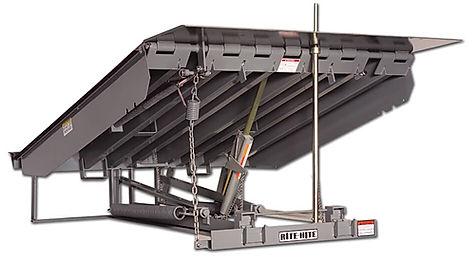Rampa Mecanica Rite Hite, Rampa ML-900 Rite Hite, Niveladora ML-900 de Rite Hite, Nivelador Rite Hite ML-900, Rampa Mecanica Rite Hite