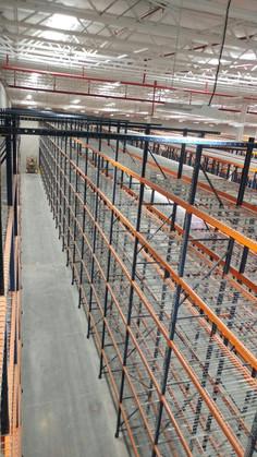 Instalacion de Racks Industriales
