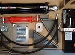 Refacciones para Rampas Niveladoras Rite Hite, Refacciones para Ganchos Retenedores Rite Hite, Venta de Refacciones de Rampas de Anden Rite Hite, Equipos para Anden Rite Hite, Refacciones de Rampas Rite Hite, Refacciones de Ganchos de Retencion de Vehiculos Rite Hite, Kit de Conversin Hidraulica 6x8 de 120 V / 1/60 ncluye: motor y bomba hidráulica, pistón principal y pistón de labio, botonera de accionamiento del equipo y mangueras y conexiones hidráulicas. Soporta un rango de carga de hasta 40,000 lbs