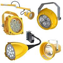 Lamparas para Anden de Carga Tri Lite, Lamparas para Andenes Tri Lite, Lampara para Anden de Carga Tri Lite, Luces LED para Andenes Tri Lite, Luces para Andenes, Iluminacion para Areas de Carga de Almacen, Accesorios para Andenes de Carga
