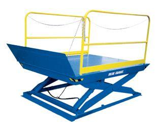 Mesa Elevadora de Tijera Blue Giant