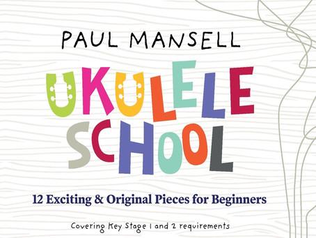 My new ukulele teaching book 'ukulele school' available to pre order
