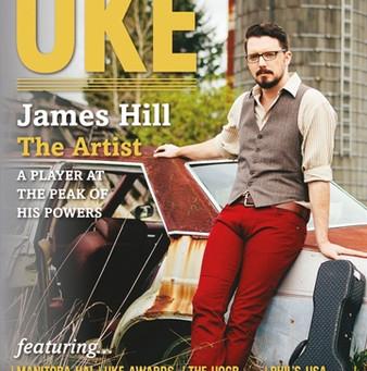 I'm in Septembers issue of Uke Magazine