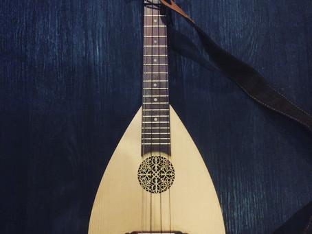 Lutelele ? A ukulele and Lute hybrid.