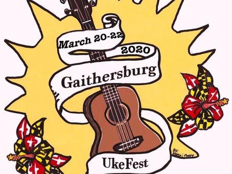 I'm doing a live online ukulele performance as as part of the Gaithersburg Uke Festival