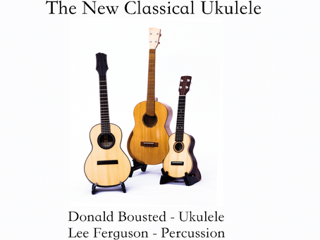 Review of 'The New Classical Ukulele' CD by Donald Bousted.