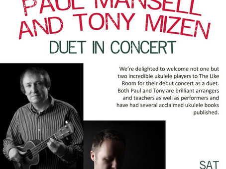 Exclusive live concert with Tony Mizen on Feb 29th 2020