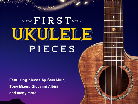 Pre order 'First Ukulele Pieces' charity book from Monday.