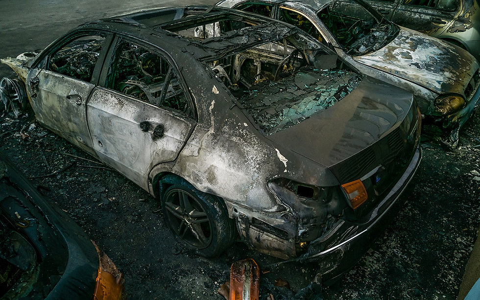 Are integrated car parks an increasing fire risk?