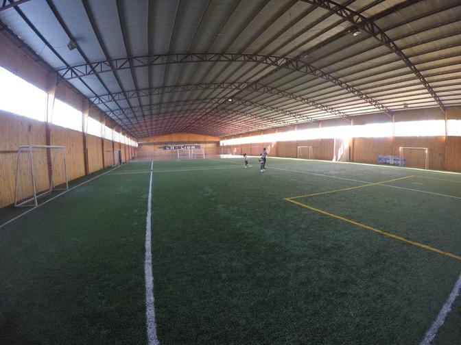 Cancha de Fútbol - Bajo techo